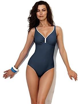 JOLIDON – Costume da Bagno Un Pezzo – Scultante – Alta Moda – 100% Europeo – Imbottite – Coppe Schiuma – Uni –...
