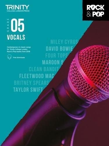 Trinity College London Rock & Pop 2018 Vocals Grade 5 CD Only (Trinity Rock & Pop 2018) por Trinity College Lond