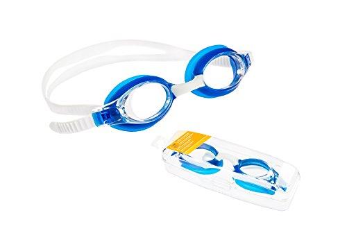 BEMA Schwimmbrille für Kinder und Jugendliche Taucherbrille mit UV Schutz