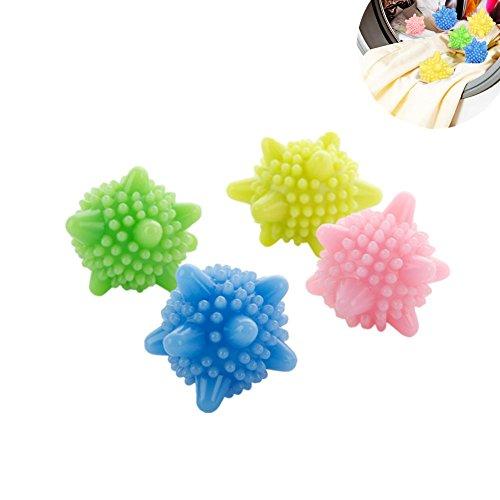Toruiwa 4x Boule de Lavage Balle à Billes Réutilisable pour Machine à laver