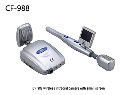 First Dental MLG Dental Wireless Intraorale Kamera mit kleinen Bildschirm cf-988 1/10,2 cm Sony CCD & integrierter 6pcs LED (Intraorale Kamera Dental Wireless)