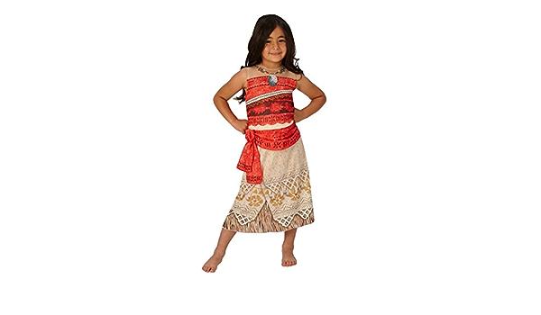 Rubies LICENZA UFFICIALE DISNEY CLASSIC MOANA Costume Da Principessa Giornata Mondiale del Libro