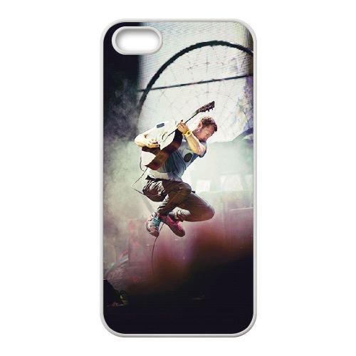 Coldplay coque iPhone 4 4S Housse Blanc téléphone portable couverture de cas coque EBDXJKNBO17143