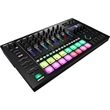 Roland MC-707 AIRA DJ GrooveBox, Eight Tracks of Recording, Sequencing, Synthesizers and Effects & Record Audio and Midi