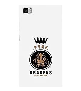 EPICCASE Pyke krakens Mobile Back Case Cover For Xiaomi Mi3 (Designer Case)