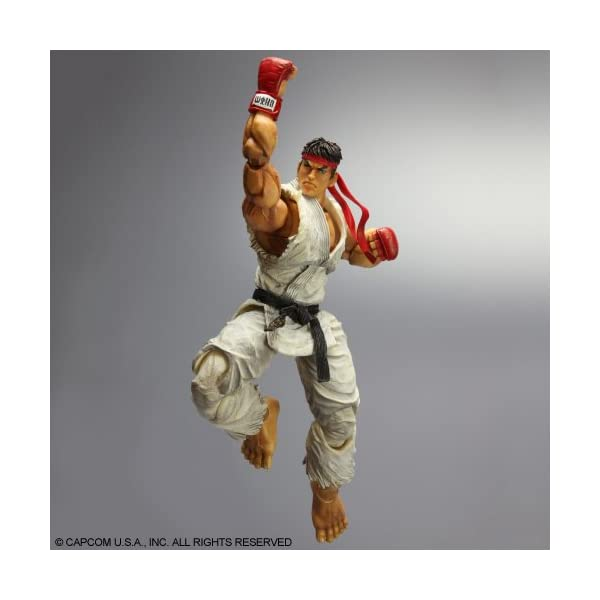 Super Street Fighter IV - Figura Play Arts Kai Ryu 3