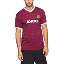 Scotch Guard Score Draw Official Retro West Ham - Camiseta de fútbol para hombre