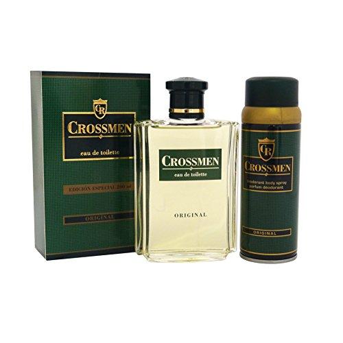 Coty crossmen original confezione regalo 200ml edt + 150ml deodorante spray