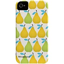 Case-mate Tad Carpenter Barely There Designer Cases for Apple iPhone 4/4s - Pears