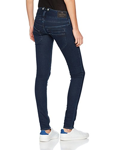 Herrlicher Damen Jeans Pitch Slim Blau (True 700)