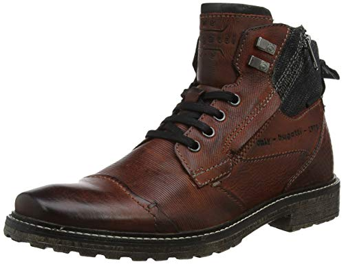 bugatti Herren 311382363200 Klassische Stiefel, Rot, 43 EU