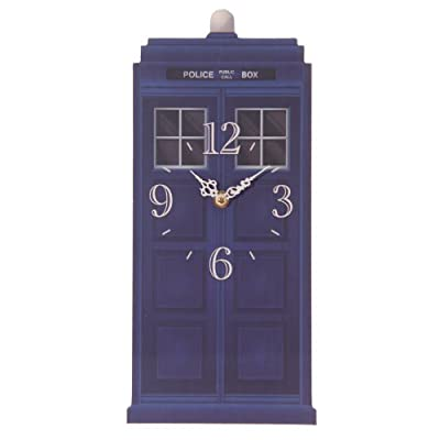Puckator CKP65, Wall Clock, Police Box Design by Ted Smith