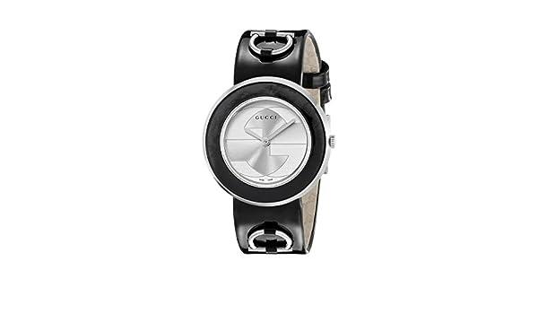 e7d1611809a GUCCI Women s YA129403 U Play Silver Dial Watch  Amazon.co.uk  Watches