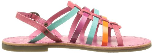 Kickers Dixmillion, Sandales fille Rose (Rose Multi)