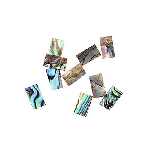 10pcs / set Femmes Filles Nail Sequin Shell Nail Art Sticker Femme enveloppements manucure Décor outil Sunlera