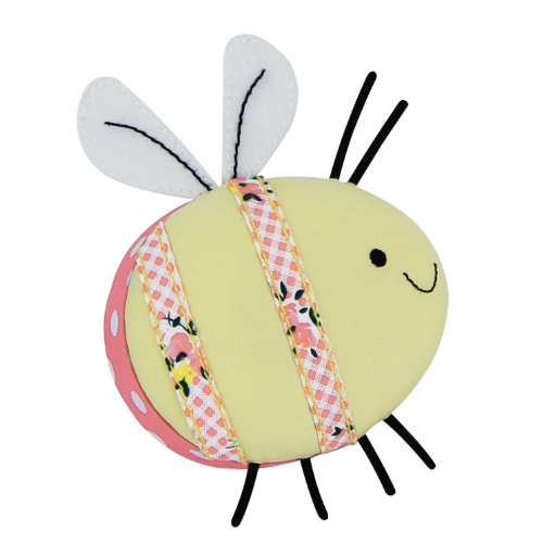 Button It | Honey Pot | novelty bumble bee pin cushion by Button It (Bumble Bee-home)