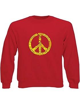 Art T-shirt, Felpa Raglan Peace, Uomo
