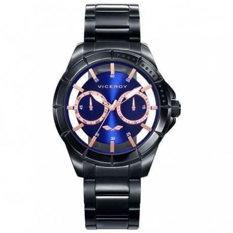 Montre Viceroy Antonio Banderas Azul Multifunción Homme 401053-37