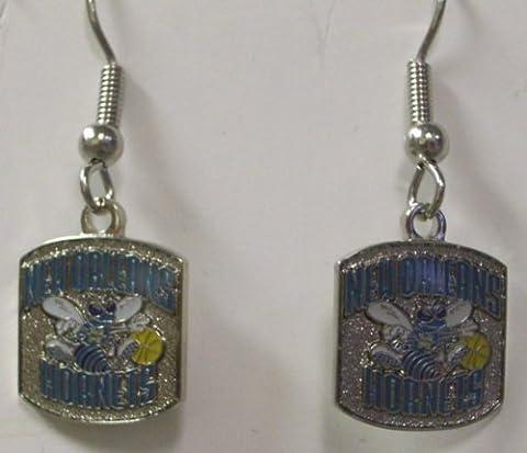 NBA Dangling Earrings - New Orleans Hornets