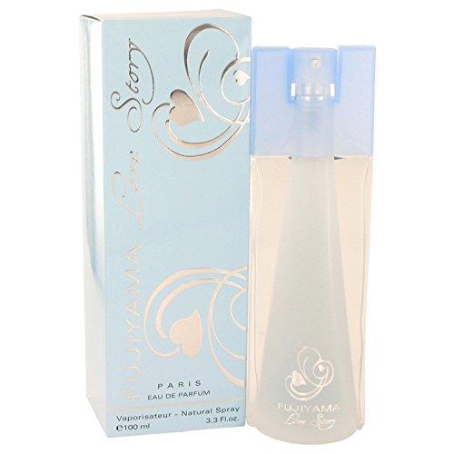 Fujiyama Love Story by Succes De Paris Eau De Parfum Spray 3.3 oz / 100 ml (Women) -