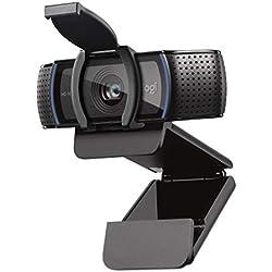 Logitech C920s HD Pro Webcam, Appels et Vidéos Full HD 1080p, Deux Microphones Stéréo, Obturateur Privacy, Logiciel d'Enregistrement Capture Compatible avec MacOS, PC et Xbox