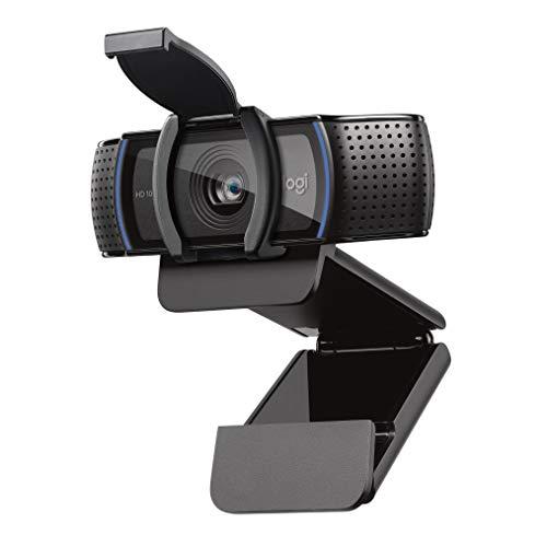 Logitech C920s HD Pro Webcam, Appels et Vidéos Full HD 1080p, Deux Microphones Stéréo, Obturateur...