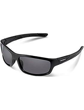 Duduma Gafas de Sol Deportivas Polarizadas Perfectas Para Esquiar Golf Correr Ciclismo con el Marco Irrompible...