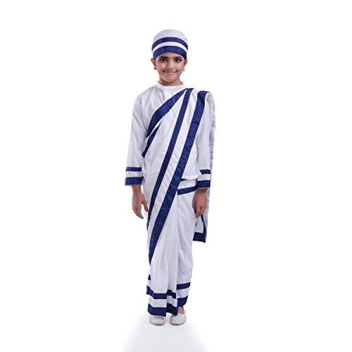 Fancydresswale Mother Teresa Costume White (3-5 yrs)