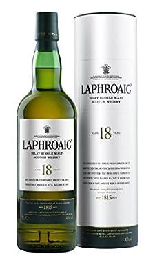Laphroaig Islay Single Malt Scotch Whisky 18 Year Old - 700ml