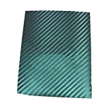 eyes4u Chameleon Carbon Fasern green-purple Vinyl Wrap Aufkleber Air Realease Bubble Free Anti-Falten 152,4x 50,8cm