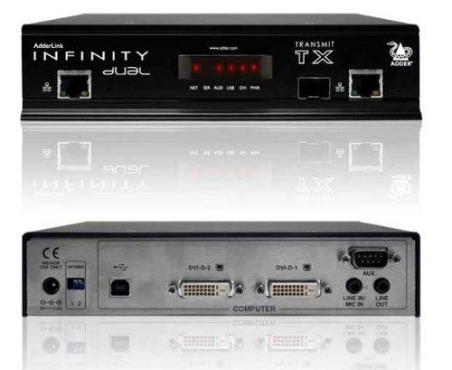 ADDERLINK ALIF2002T INFINITY DUAL DVI USB TRANSMITTER