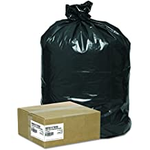 Super Value Pack Contractor Bags, 42 gal, 2.5 mil, 33 x 48, Black, 50/Carton, Sold as 1 Carton