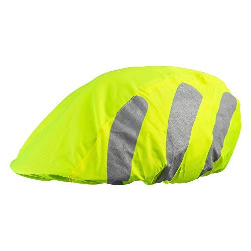 ECENCE 1x Fahrradhelm Regenschutz Helm Regenüberzug Helmschutz für Kinder wasserdicht Reflektor Helmüberzug 11010208