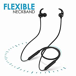 RICHVOLT Wireless Earphones Waterproof Headphones Bluetooth Headsets for OnePlus 7T, Redmi Note 8, M30s, Y9 Prime, Realme U1, Reno2 Z, U20, Mi 7A, Y2, Y3, Mi A1, A2, A3, M40, Realme 5 Pro, XT, Poco F1