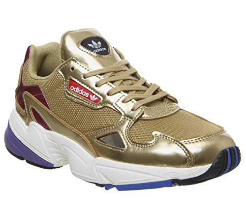 adidas Falcon W, Scarpe da Fitness Donna, Oro Dormet/Casbla 000, 38 2/3 EU