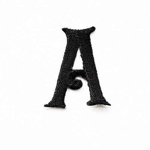 Parches bordados letras A Z vaqueros, ropa tela, se