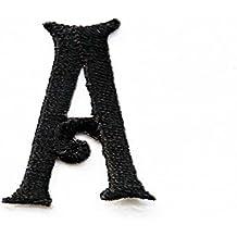 Parches bordados de las letras A a la Z para vaqueros, ropa y tela,
