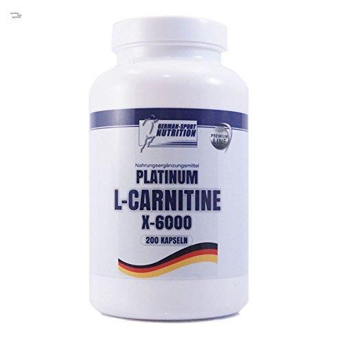 L-carnitin Diät ( L-Carnitin Kapseln - L-Carnitine X-6000 extrem hochdosiert 200 Caps Carnitin Diät Definitionsphase)