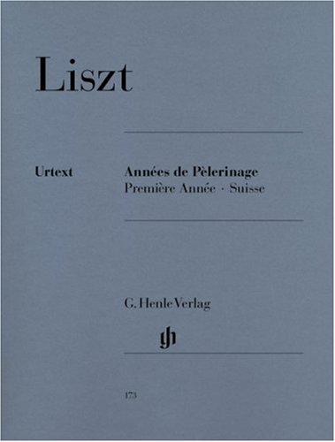 Années de Pèlerinage 1 - Suisse. Klavier 2 ms: Klavier zu zwei Händen