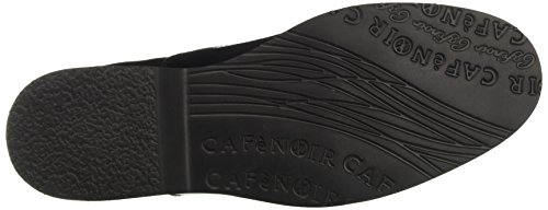 Cafènoir Lec924010, Derby Chaussures À Lacets Femme Noir