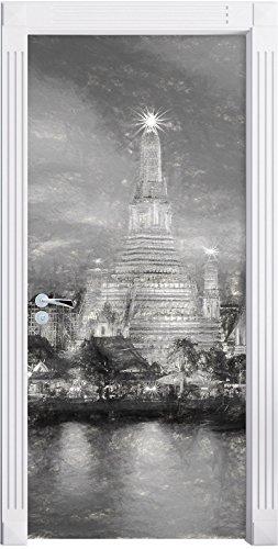 effetto-carbone-wat-arun-temple-night-view-bangkok-thailandia-come-murale-formato-200x90cm-telaio-de