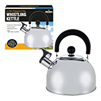 Milestone Camping Whistling Kettle Teapot Coffee Pot Indoor Outdoor Camping Hiking Picnic 13