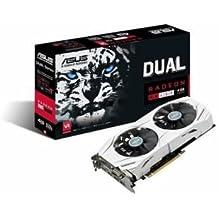 ASUS Radeon DUAL RX 480 4G 4GB GDDR5 256 bit DVI HDMI DisplayPort PCI-E 3.0
