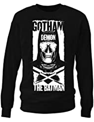 Gotham Demon hommes Sweat-shirt (Noir)
