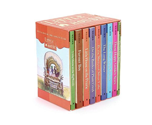 Little House Complete 9-Book Box Set: Books 1 to 9: A Pioneer Chronicle (The Prairie Bücher Little On House)