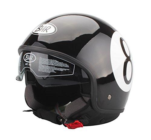 BHR 93262 Casco, Color Negro, Talla 59-60 cm