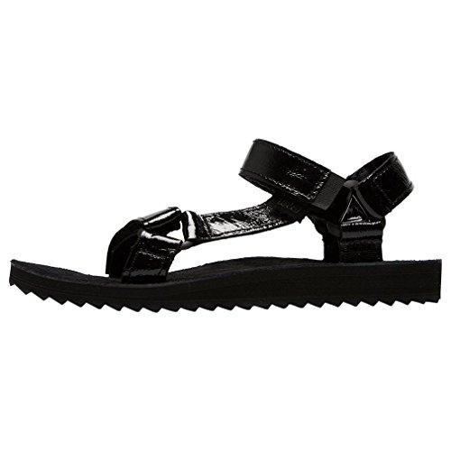 sandale-teva-original-universal-patant-cuir-femmes-noir-38