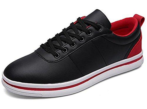 Men's Simple Teenage Outdoor Athletic Skateboarding Shoes Black