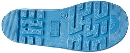 Playshoes Krokodil, Bottes de Pluie mixte enfant Blau (Original)