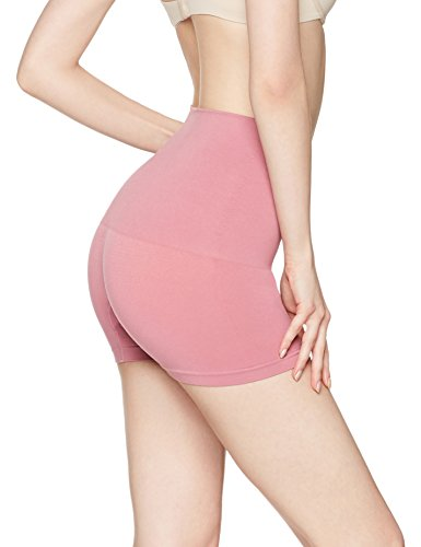 Iris & Lilly Panty a Vita Alta Seamfree Donna Rosa (Old Rose)